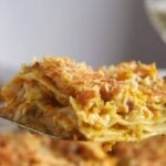 pumpkin lasagna coconut mil 150x150 Curried Chicken Lasagna with Pumpkin and Coconut Milk