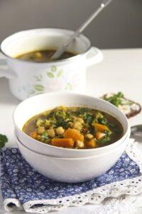 Broccoli Chickpea Soup 4 200x300 Broccoli Chickpea Soup with Sweet Potatoes and Turmeric