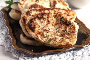 IMG 8072 300x200 Soft Afghan Naan Bread with Yogurt and Nigella Seeds