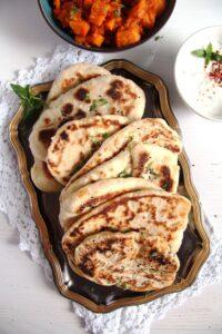 IMG 8076 200x300 Soft Afghan Naan Bread with Yogurt and Nigella Seeds