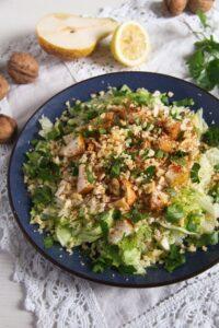 celeriac salad ed 2 200x300 Autumn Pear, Celeriac and Walnut Salad with Cheese
