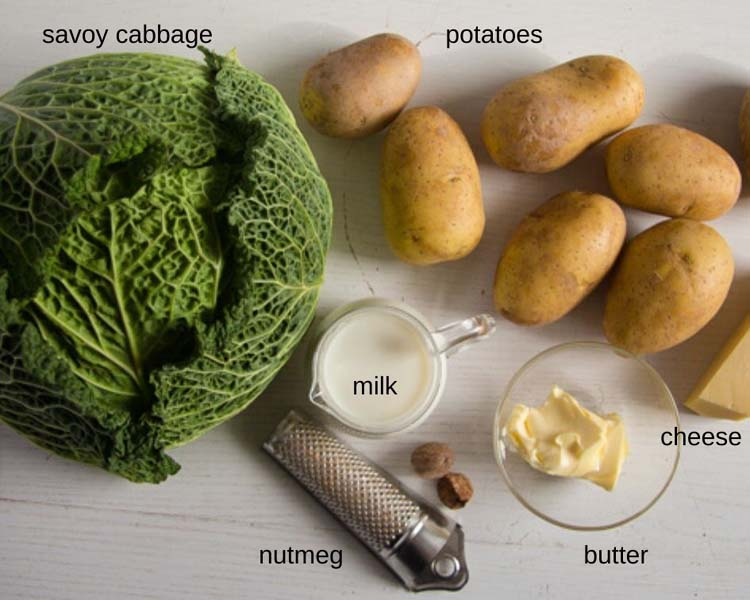 ingredients savoy cabbage casserole
