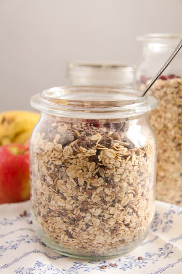 muesli 4 Homemade Muesli Mix   No Added Sugar or Oil, Vegan, Gluten Free
