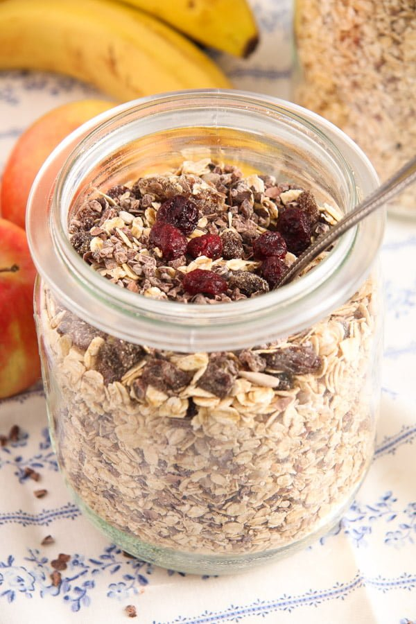 muesli 7 Homemade Muesli Mix   No Added Sugar or Oil, Vegan, Gluten Free