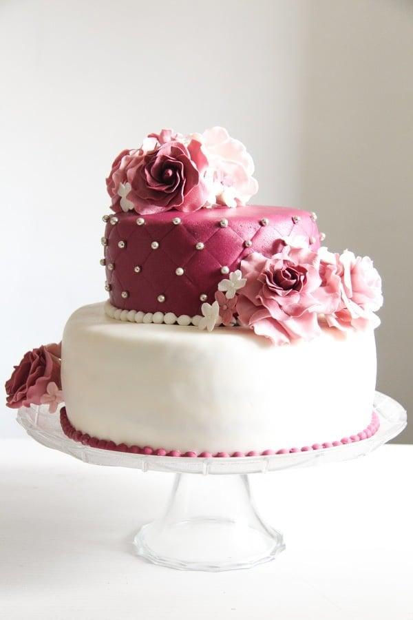 fondant cake recipe