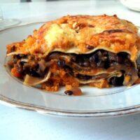 pumpkin lentil lasagne 200x200 Butternut Squash Lasagna with Lentils
