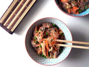 Glass Noodle Salad1 300x225 glass noodle salad