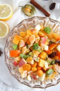 fruit salad 1 200x300 Winter Fruit Salad with Cinnamon Star Anise Dressing