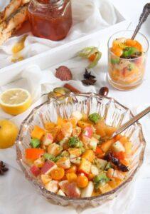 fruit salad 2 211x300 Winter Fruit Salad with Cinnamon Star Anise Dressing