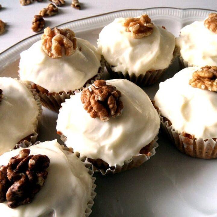 nigella carrot cake muffins cupcakes