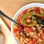 the best beans vegan3 150x150 Grandmas Perfect Bean and Vegetable Stew   Romanian Beans
