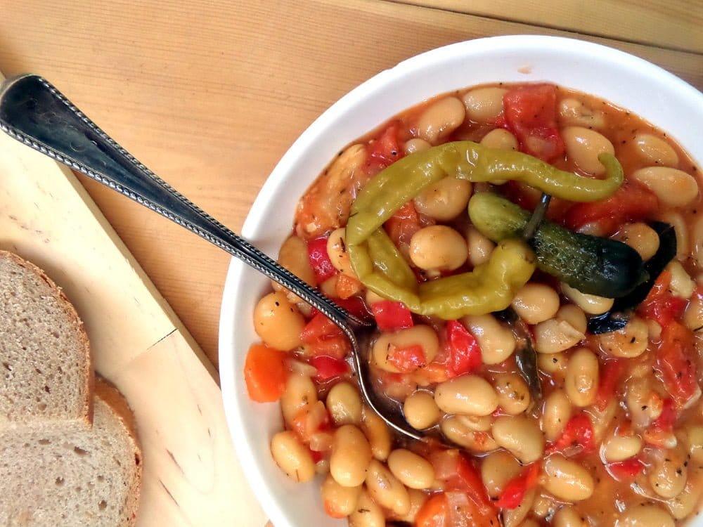 the best beans vegan3 Simple New Potatoes in Tomato Sauce   Vegan Recipe