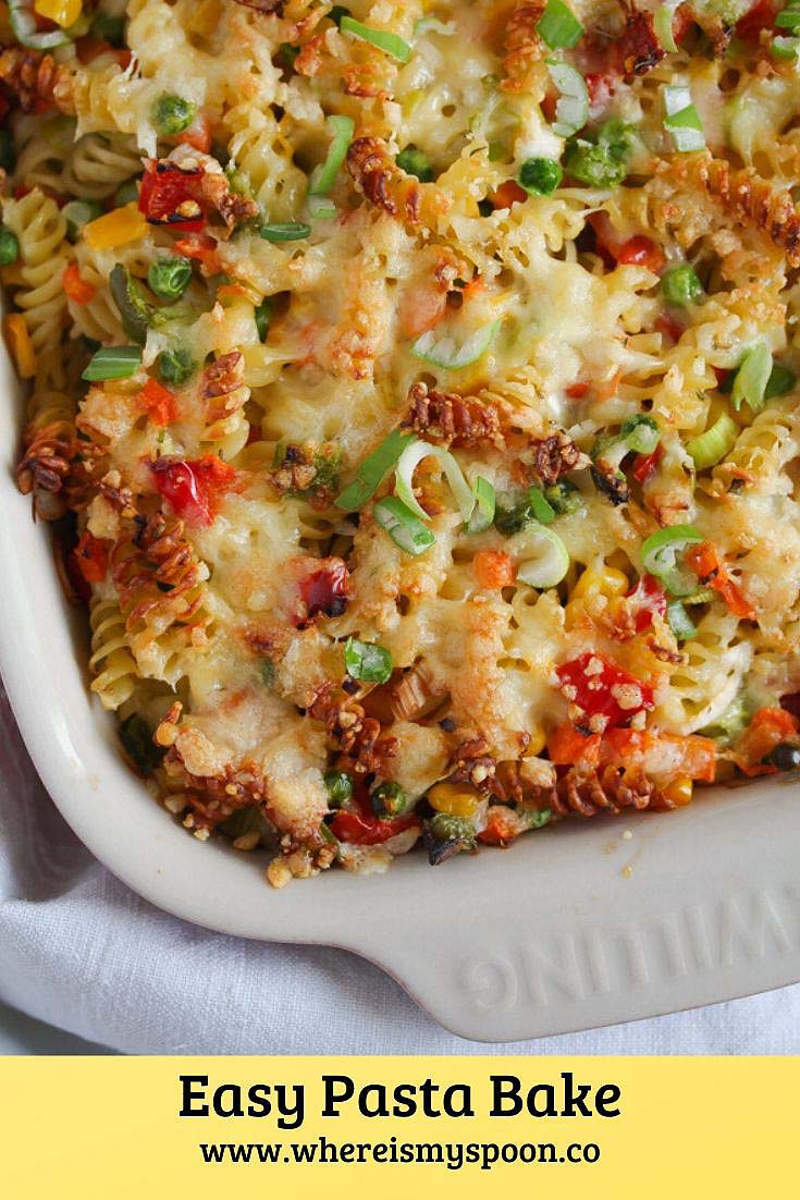 Easy Pasta Bake Easy Pasta Bake Recipe