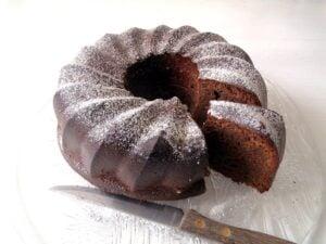 No Flour Chocolate Cake 300x225 Moist Flourless Chocolate Cake with Almonds