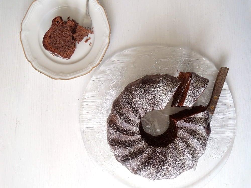 No Flour Chocolate Cake3 Moist Flourless Chocolate Cake with Almonds
