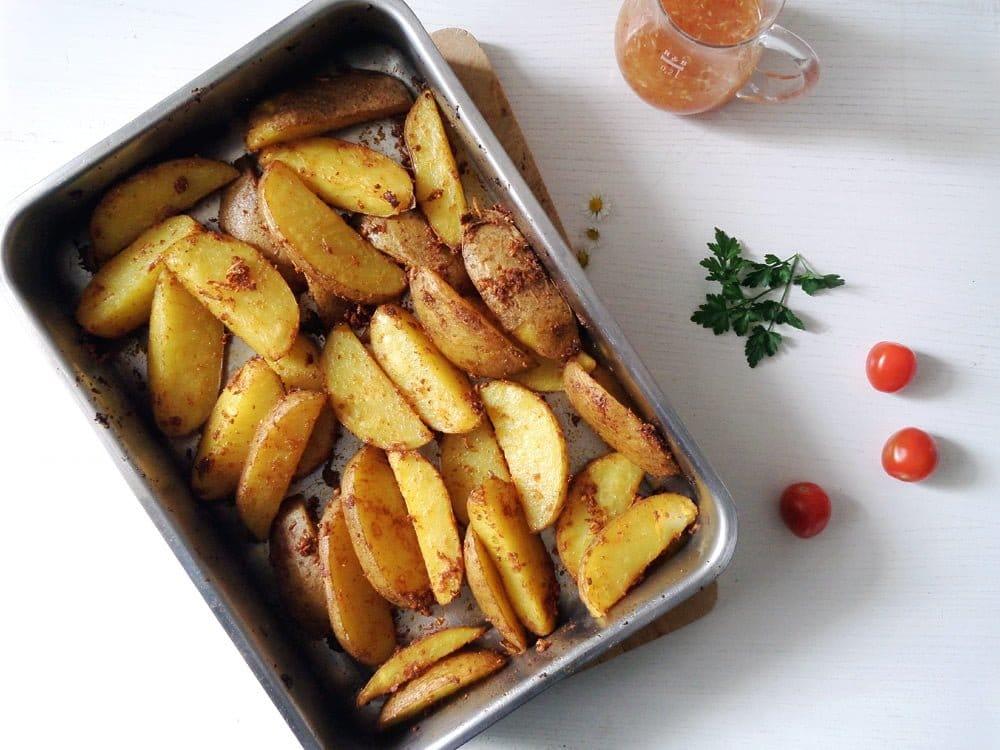 potato wedges sweet chili s Hunter Schnitzel – Classic German Jägerschnitzel with Mushroom Sauce