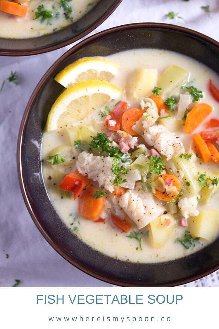 FISH VEGETABLE SOUP 735x1102 Fish Vegetable Soup