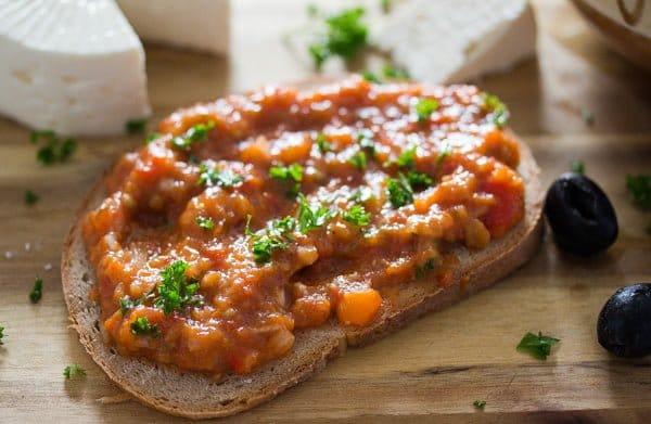 ajvar recipe bread spread
