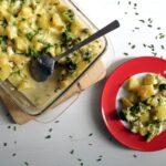 Skinny Broccoli Potato Casserole