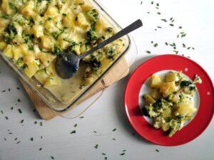 skinny broccoli casserole 300x225 Skinny Broccoli Potato Casserole