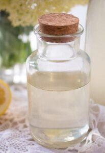 elderflower syrup 14 206x300 Homemade Elderflower Syrup or Elderflower Cordial