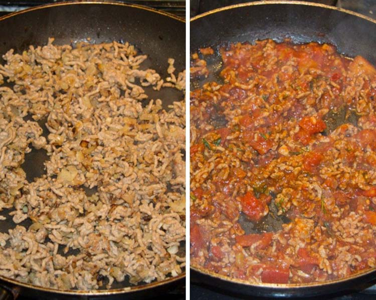 how to make meat sauce for lasagna