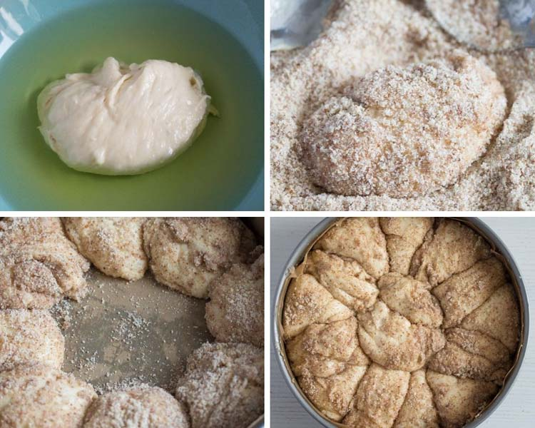 how to make yeast cake monkey bread Pull Apart Yeast Cake – Hungarian Coffee Cake
