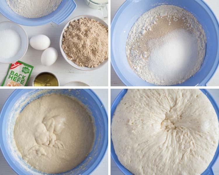 how to make yeast dough