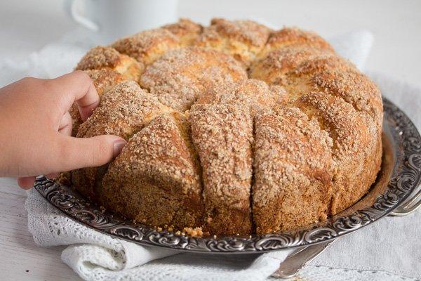 yeast cake 14 Pull Apart Yeast Cake – Hungarian Coffee Cake