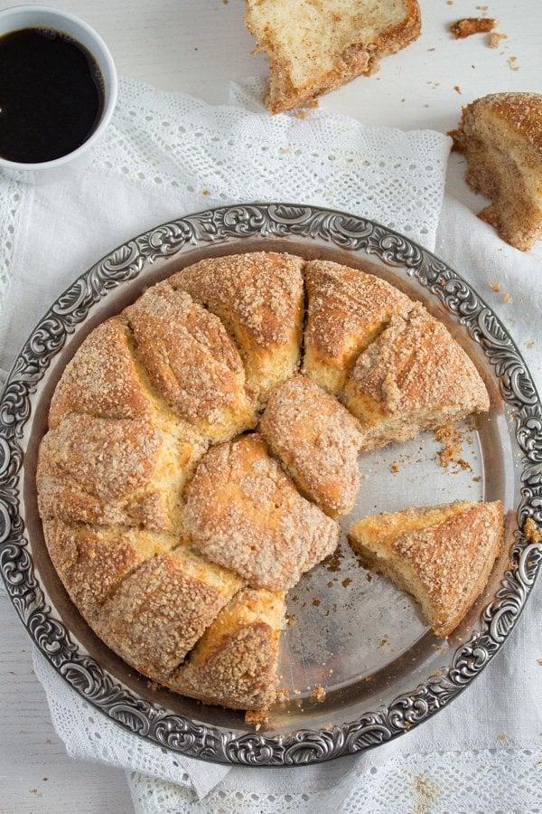 yeast cake 23 Pull Apart Yeast Cake – Hungarian Coffee Cake