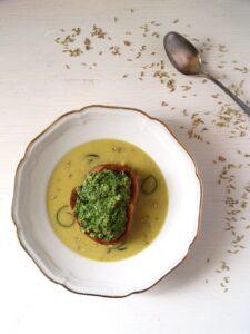 zucchini soup souffle bague 225x300 zucchini soup souffle bague