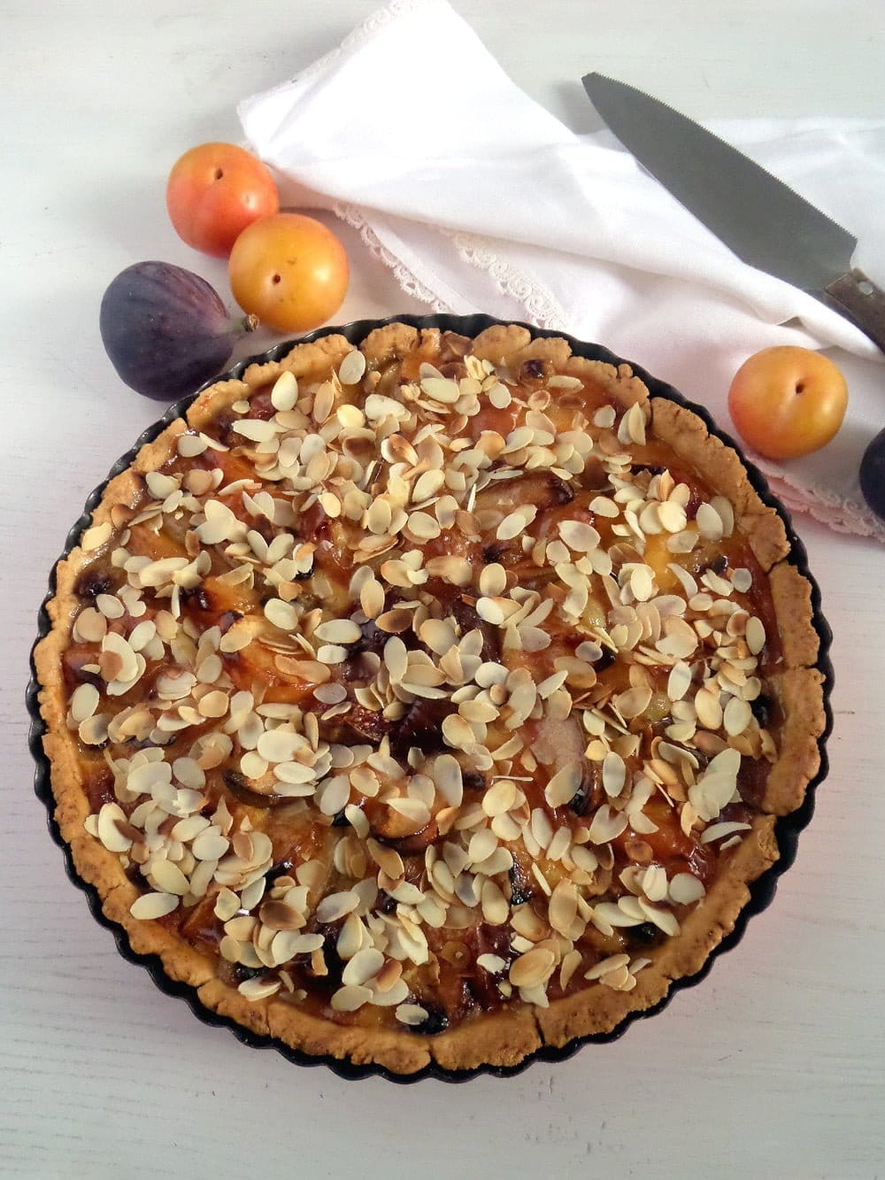 orchard pie Autumn Fruit Pie with Cream Topping
