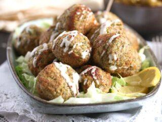 cauliflower broccoli balls