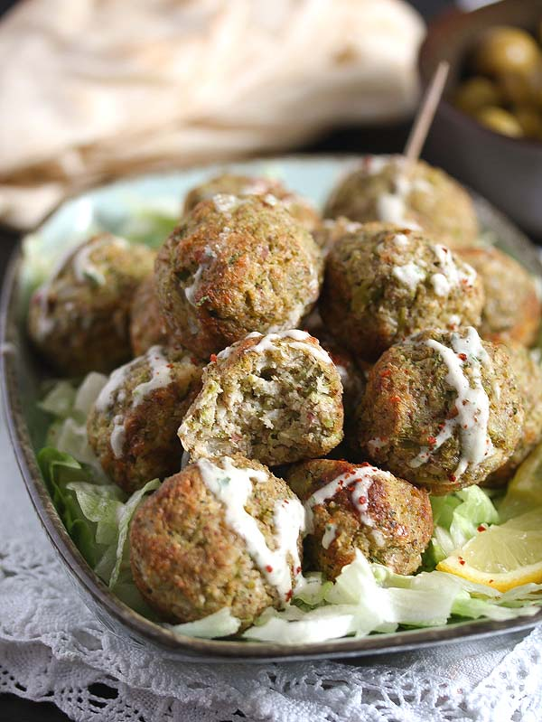 "broccoli ""meatballs"""