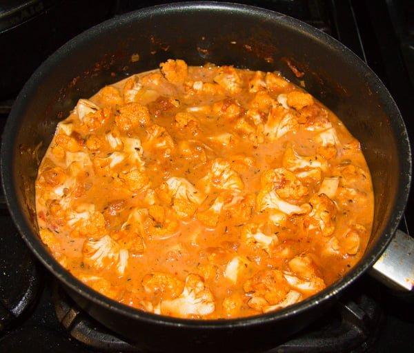 cauliflower in tomato sauce 3 Cauliflower In Tomato Sauce – Vegan Cauliflower Recipe