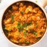 cauliflower in tomato sauce 4 150x150 Cauliflower In Tomato Sauce – Vegan Cauliflower Recipe