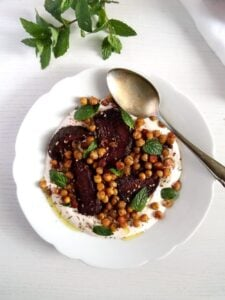 roasted beetroot chickpeas 225x300 Roast Beetroot Salad