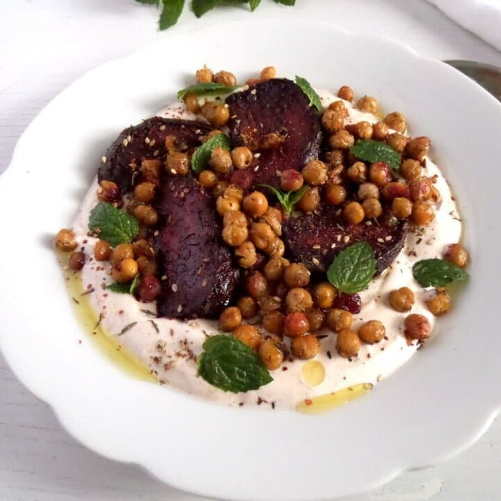 roasted beetroot harissa 720x720 Roast Beetroot Salad