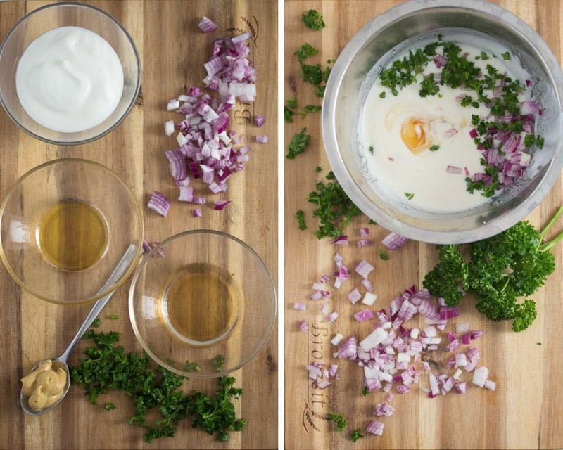 how to make yogurt dressing for salad
