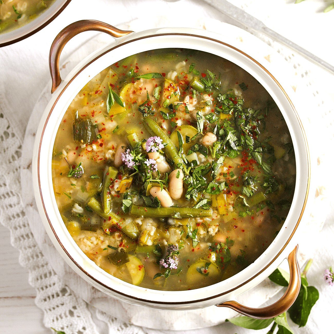 Rice and Beans Soup
