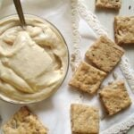 Silken Tofu Spread with Spelt Crackers - Where Is My Spoon