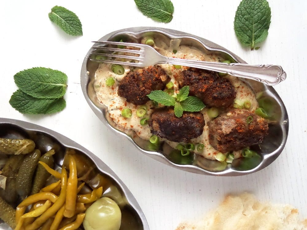 turkish meatballs Turkish Beef Rolls with Cumin in Yogurt Mint Sauce