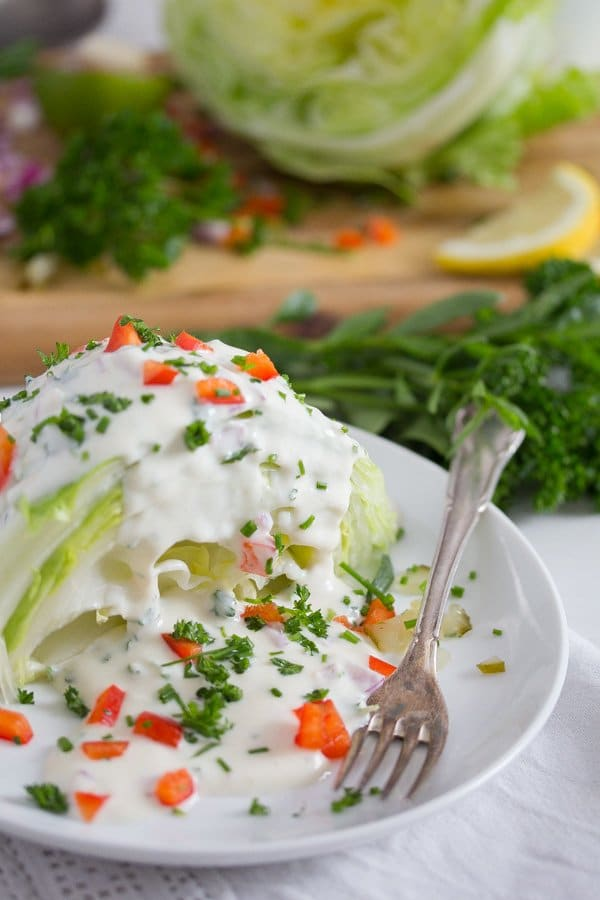 yogurt dressing for salad