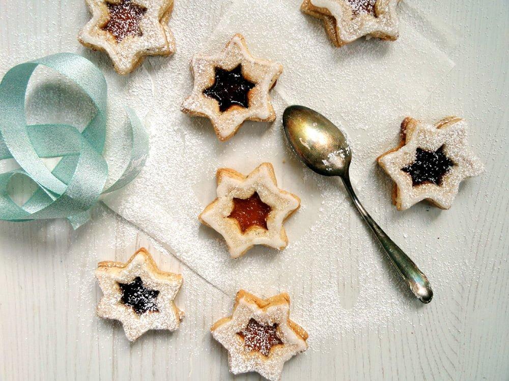 star cookies Spitzbuben – German Cookies