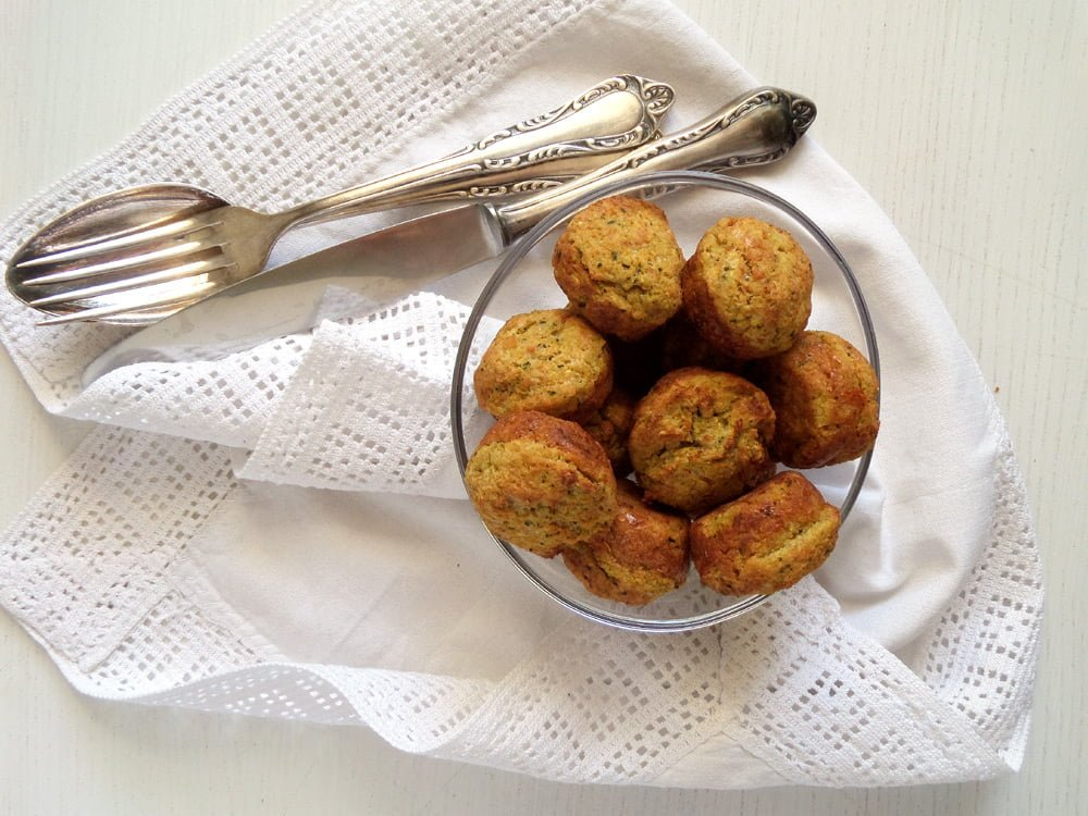 Veggie and Chickpea Meatballs