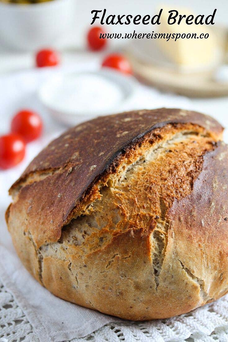 , Flaxseed Bread
