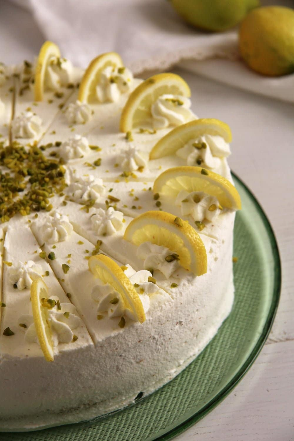 Lemon Buttermilk Torte