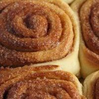 sweet rolls with cinnamon