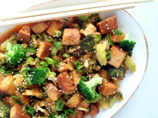 broccoli tofu stir fry