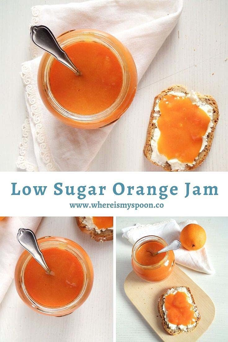 Low Sugar Orange Jam 1 735x1102 Orange Jam   Low Sugar Jam